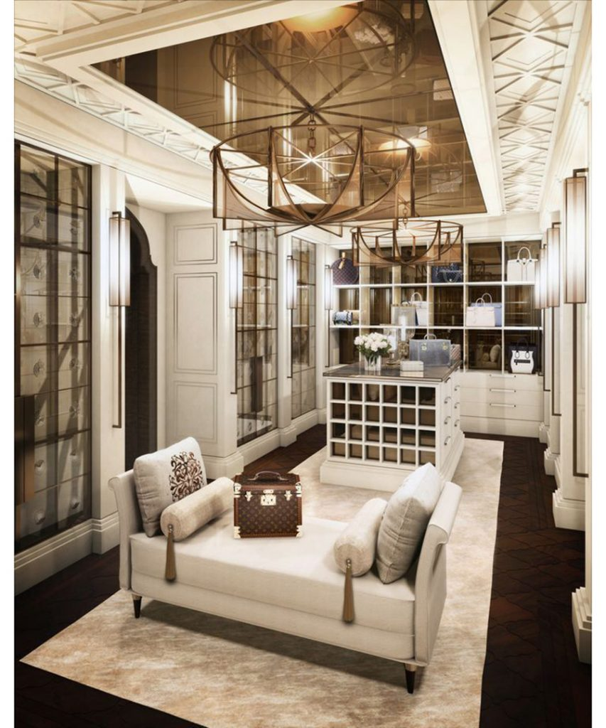 luxury custom closet design